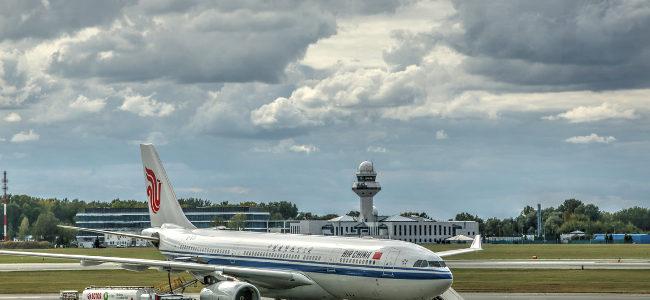Boeing B737-800 Air China na Okęciu