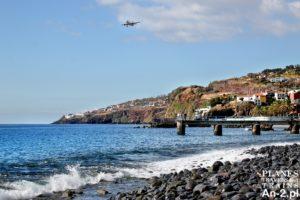 Madera 2016 – 04 – plaża, samoloty, targ i basen z widokiem