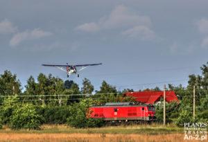 samolot i pociąg