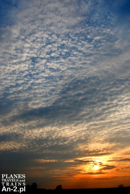 chmury cirrocumulus
