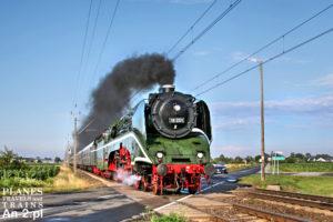 BR 18 201 na wielkopolskich szlakach
