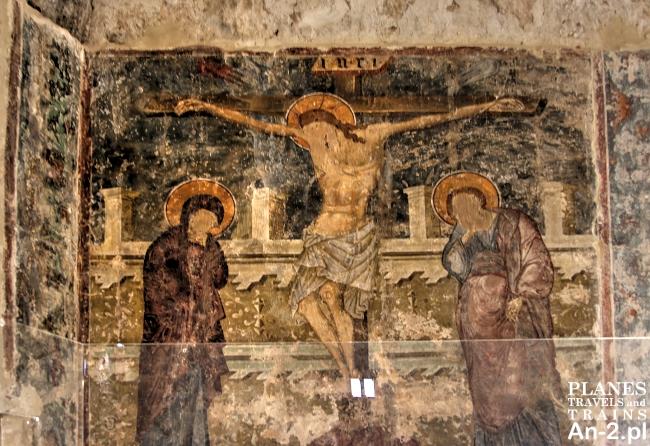 fresk w zamku kolossi