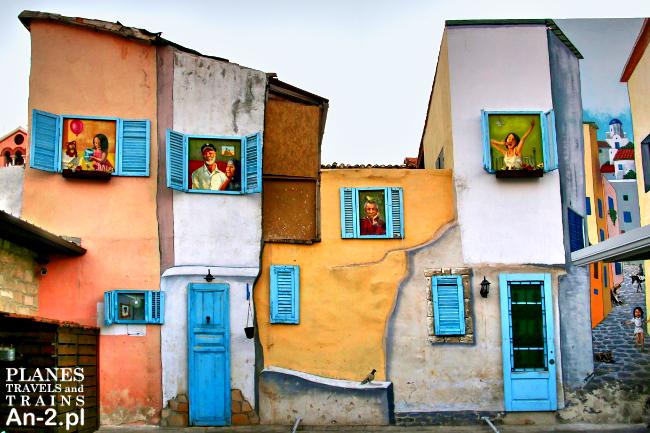 malowany dom limassol cypr