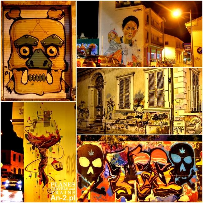 graffitti limassol cypr