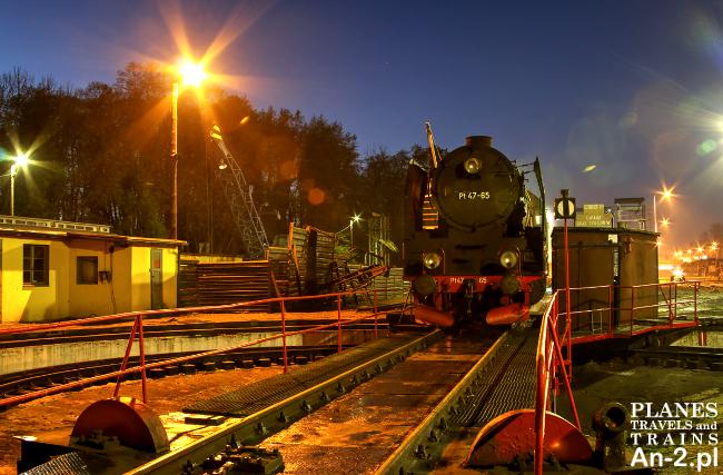 wolsztynska parowozownia parowozy