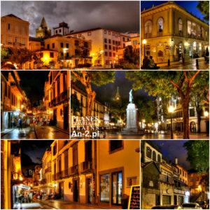 Madera 2016 – 18 – Funchal wieczorem