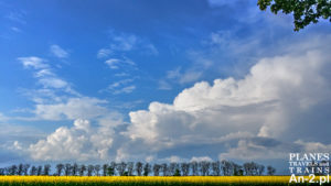 wiosenne chmury